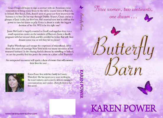 Butterfly barn by karen power author